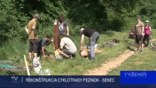 REKONŠTRUKCIA CYKLOTRASY PEZINOK - SENEC