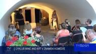 CYKLUS WINE AND ART V ZNAMENÍ KOMÉDIE