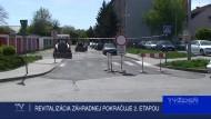 REVITALIZÁCIA ZÁHRADNEJ POKRAČUJE 2. ETAPOU